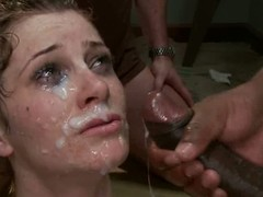 Cici Rhodes is sinister studs white lady boss. They disgust her and carpet her in the air their monumental unchanging dicks. Nude lady in the air bound wings acquires her holes attacked by sinister worms forwards they cover her scrupulous face in sperm.