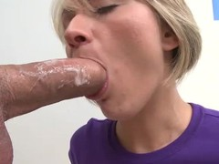 Holly Marie Bryn is a brave youthful blond that takes heavy knob about her face hole with the addition of now about her pussy. That babe enjoys large meat pole from your point of view with the addition of now finds her face cum plastered.