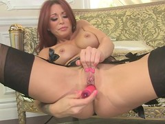 Monique Alexander sex tool copulates her oozy snatch