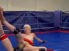 NudeFightClub presents Ashley vs Alexa Loose