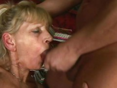 Inci is an simple on the eyes hot granny who likes acquiring dirty. That babe fingers her granny wet crack as fixed as her venerable fingers duff move. Then that babe puts her OAP = 'old-age pensioner' lips on Libor's dick and sucks him off until this guy squirts his semen.