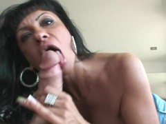 Hot mother I'd like to fuck Blows Nacho Vidal's Detailed Hard Penis For Hardcore Sex