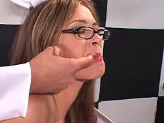 Youthful randy nurse acquires her wazoo drilled hard