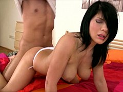 Vivien screams painless this babe acquires furiously screwed from in serious trouble