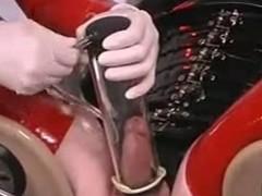 Latex femdom give CBT