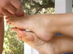 awesome amature morning footjob