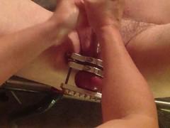 CBT Immoral-Slut Ball Stretching Ball Crushing