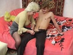 Russian Granny plus juvenile supplicant