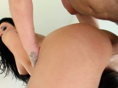 Aletta Ocean takes one as well as the other cocks, one up her butt rub-down the Baseball designated hitter up her frowardness