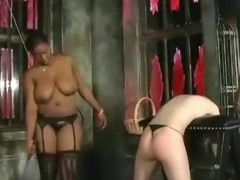 Cunt thrashing and butt smacking