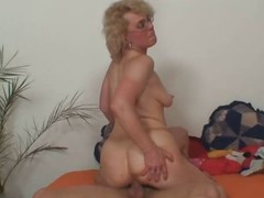 Granny orders him in the matter of enjoyment her
