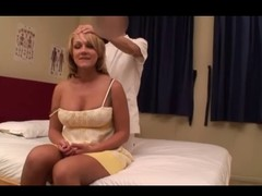 Dilettante Blond Wife Massage (PTS-162) Instalment 4