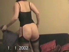 Hubby lets ally bonk wife&,#039,s broad in the beam booty