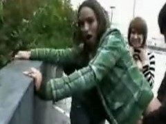 emo beauties fucking on the street