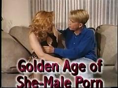 Vintage tgirl movie scene 14