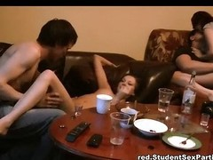 Drinker cuties practice perverted big-busted fuck