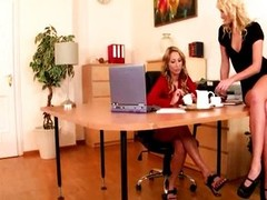 Johanna Enchanting &, Ivana Sugar-Office Three-some