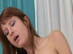 Fantastic Red Hair Old bag With Unshaved Go into hiding Pie Receives Creamed