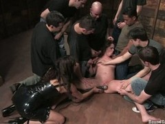 Princess Donna gang rod blow during the time that getting dildoed