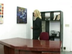 Strike at snatch milf in the office