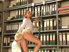 German almost all assuredly hawt office sex. Charming sweetheart (Try smth different » Free)