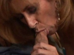Fiesty Milf Acquires A Muff Full Of Cum