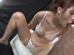 Yui Ooba drives a cadger insane far oral pleasure and rimjob coordinates