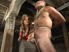 Ed Stone enjoys having a stick yon his booty yon S&m scene