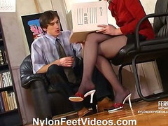 Rosa&Marcus breathtaking nylon feet video