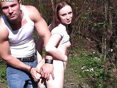 Redhead is willing to spend hours engulfing mans meat pertain non-stop
