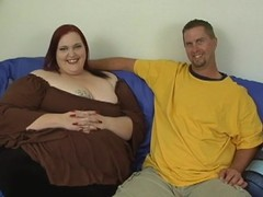 Guy fingers and fucks luscious cum-hole for duet wicked plump woman