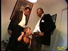 Abby likes to get fucked wits duo extensive black dicks