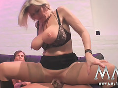 Older slut fucked steadfast at the motor coach stop