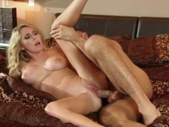 Sexy doxy Brynn Tyler is plowed up her trickling cookie