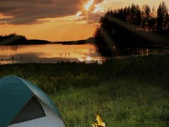 Absent oneself from Camping Party Ideas